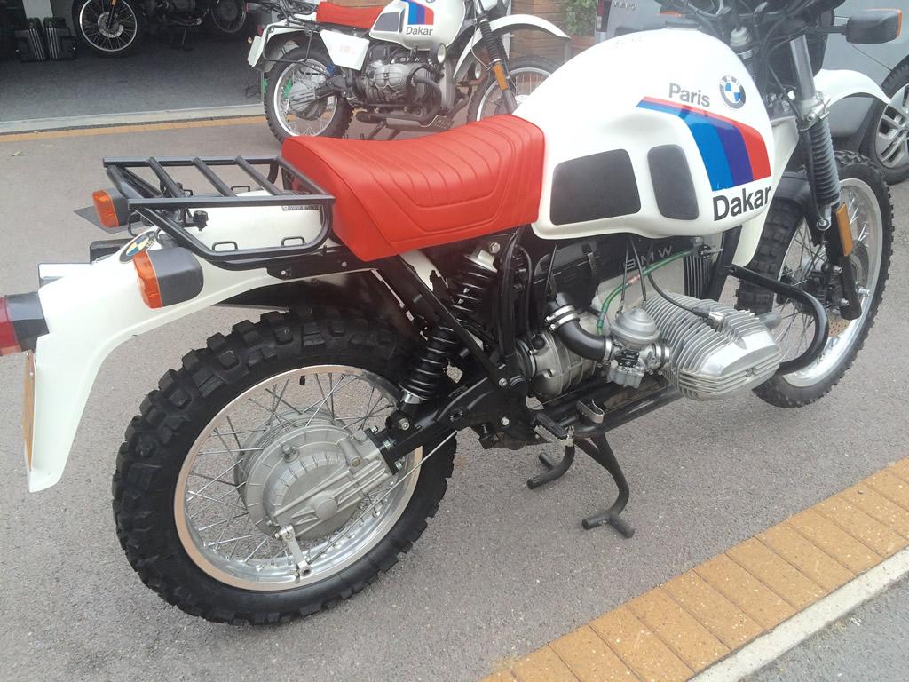 Bamw 1986 R80g S Paris Dakar
